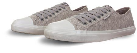 Superdry Grey Low Pro Sleek Trainer  - Click to view a larger image