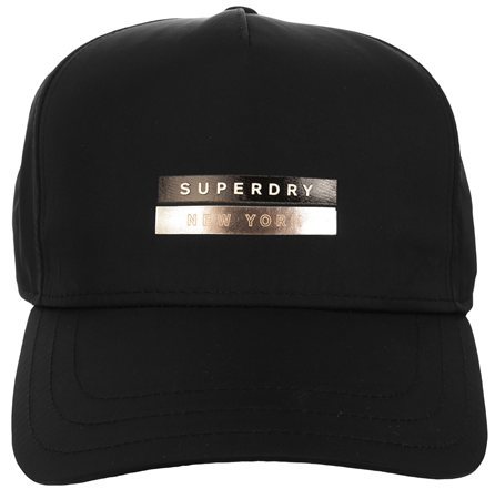 Superdry Black Cap  - Click to view a larger image