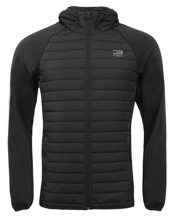 Jack & Jones Black Quilted Jacket  - Click to view a larger image