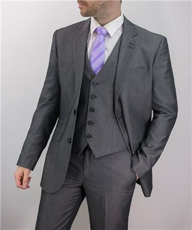 Cavani Grey Verona Three Piece Suit  - Click to view a larger image