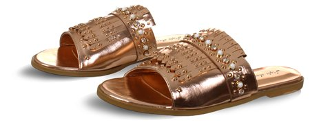 No Doubt Gold Sandal  - Click to view a larger image