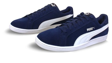 Puma Blue Smash Trainer  - Click to view a larger image