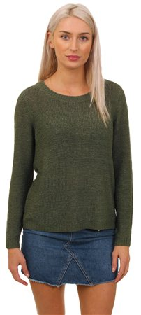 Only Khaki Geena Knit Jumper  - Click to view a larger image