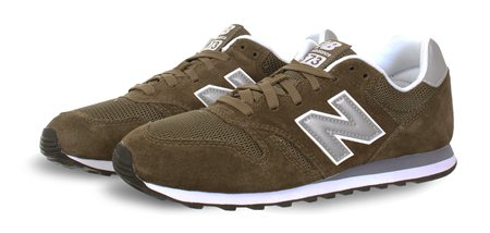 New Balance Olive Trainer  - Click to view a larger image