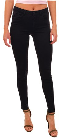 Only Black Royal Deluxe Mid Rise Skinny Jeans  - Click to view a larger image