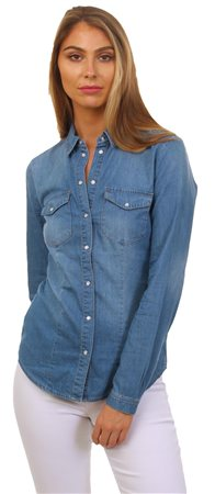 Only Denim Rockit Shirt  - Click to view a larger image