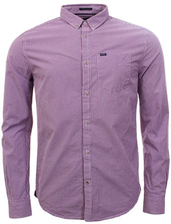 Superdry Purple Ultimate Oxford Shirt  - Click to view a larger image