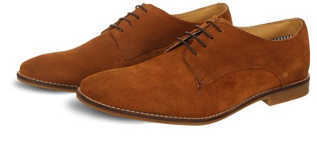 Ikon Brown Textured Stewart Shoe  - Click to view a larger image