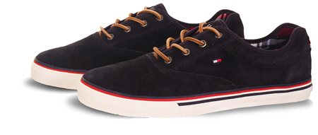 Hilfiger Denim Navy Trainer  - Click to view a larger image