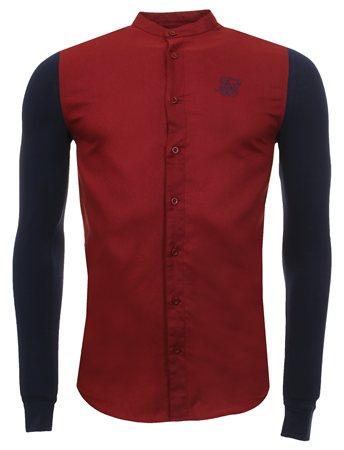 Siksilk Burgundy Granda Shirt  - Click to view a larger image