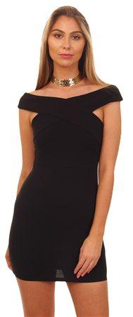 Ax Paris Black Bodycon Dress  - Click to view a larger image