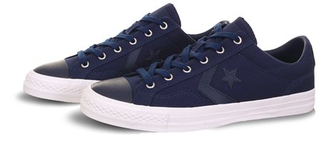 Converse Navy Star Player  - Click to view a larger image