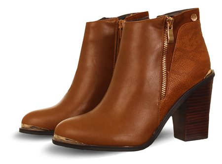 Zanni Tan Tober Classic Ankle Boot  - Click to view a larger image