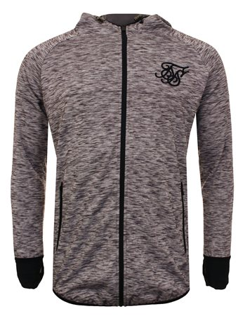 Siksilk Grey Hoody  - Click to view a larger image