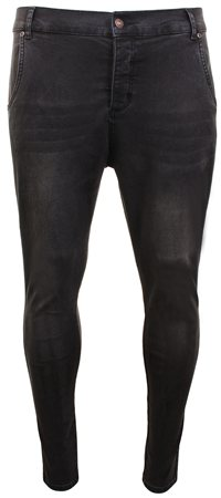 Siksilk Black Super Skinny Jean  - Click to view a larger image