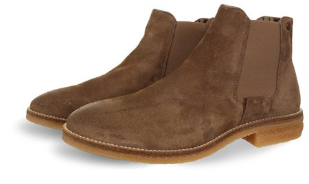 Jack & Jones Taupe/Grey Chelsea Bott  - Click to view a larger image