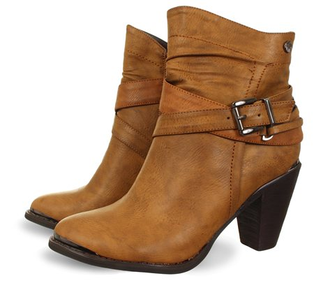 Zanni Brown Crown Ankle Boot  - Click to view a larger image