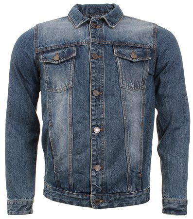 Brave Soul Denim Fielding Jacket  - Click to view a larger image