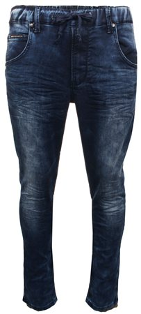 Crosshatch Stnwash Stetch Waist Jean  - Click to view a larger image