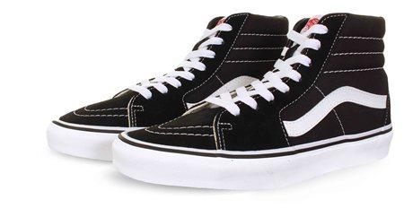 various colors 8ecbc a7363 Black/White Sk8-Hi Shoes - 3