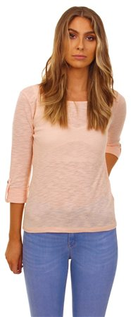 Only Peach Cas Top  - Click to view a larger image