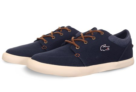 c584f485a72ccf Lacoste Navy Trainer - Click to view a larger image