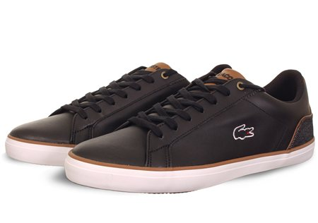 Lacoste Black Trainer  - Click to view a larger image