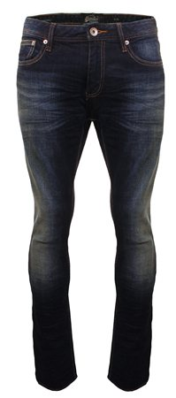 Superdry Interstate Blue Corporal Slim Jeans  - Click to view a larger image