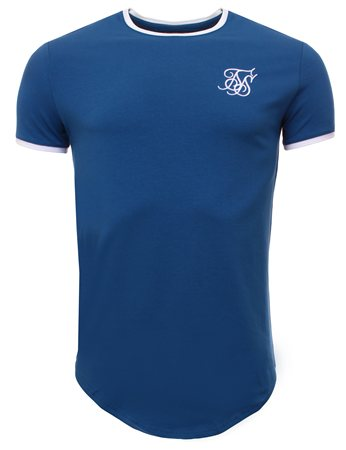 Siksilk Blue Tee  - Click to view a larger image