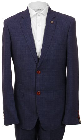 Marc Darcy Blue Richmond Suit  - Click to view a larger image