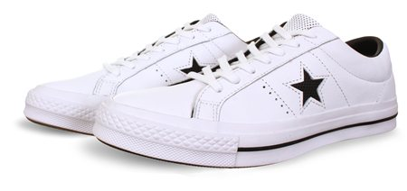 Converse White One Star New Heritage  - Click to view a larger image