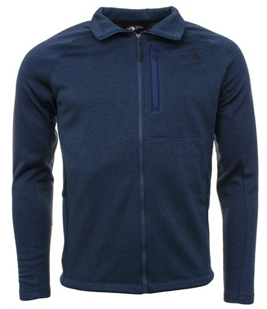 The North Face Blue Zip Up Fleece  - Click to view a larger image