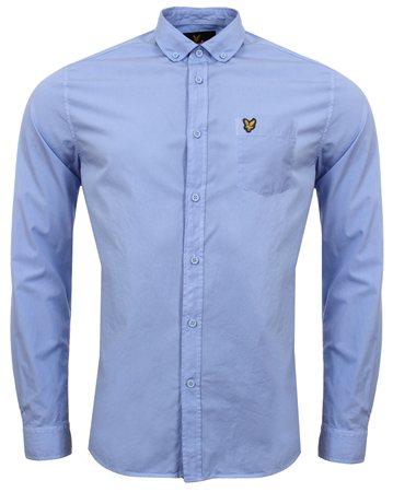 Lyle & Scott Blue Shirt  - Click to view a larger image