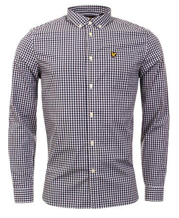 Lyle & Scott Navy Shirt  - Click to view a larger image