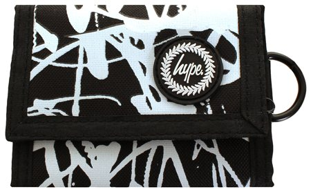 Hype Black Crack Gkass Wallet  - Click to view a larger image