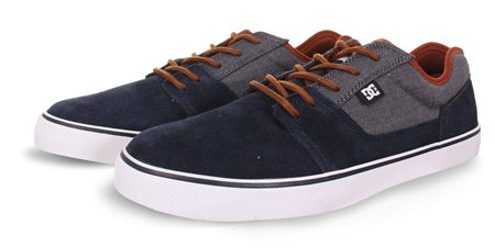 D.C Shoes Navy Navy Tonik Trainers  - Click to view a larger image