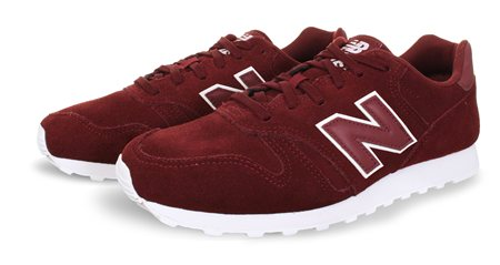 New Balance Burgundy 373 Trainer  - Click to view a larger image