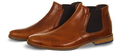 Bull Boxer Tan Chelsea Boot  - Click to view a larger image