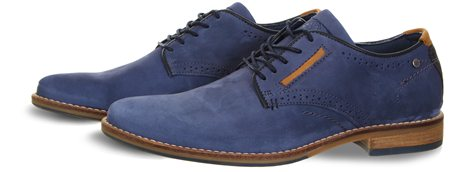 Bull Boxer Blue Shoe  - Click to view a larger image