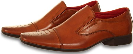 Paolo Vandini Tan Santos Slip On Shoe  - Click to view a larger image