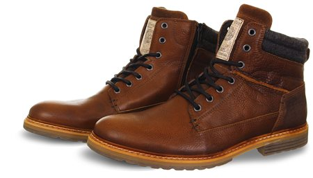 Bull Boxer Brown Lace Up Boot  - Click to view a larger image