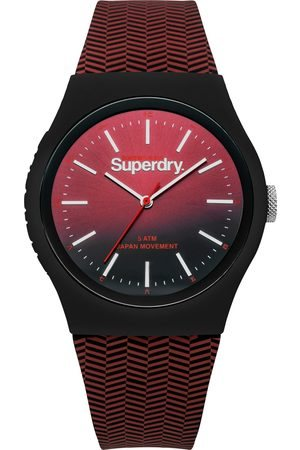 Superdry Burgundy Sports Watch  - Click to view a larger image
