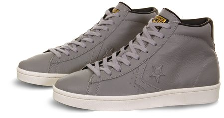 Converse Grey Star Player  - Click to view a larger image