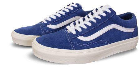 Vans Blue Old Skool Shoes  - Click to view a larger image
