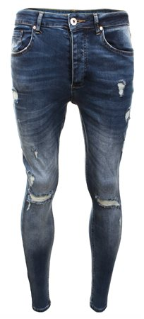 Kings Will Dream Denim Rummer Ripped Jeans  - Click to view a larger image