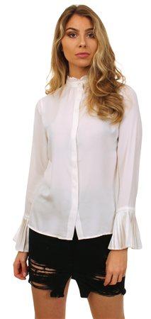 Vila White Camila Shirt  - Click to view a larger image