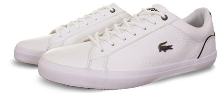 Lacoste White Lerond Trainer  - Click to view a larger image