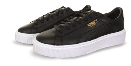 Puma Black Platform Trainer  - Click to view a larger image