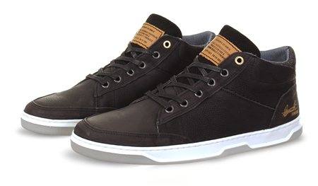 Bull Boxer Black Hi Top Boot  - Click to view a larger image