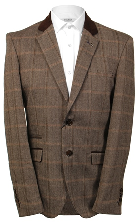 Kaymans Brown Connall Blazer  - Click to view a larger image
